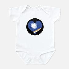 I love MARSHALL ISLANDS Flag Infant Bodysuit