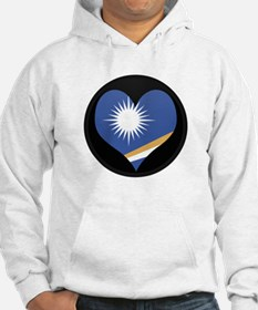 I love MARSHALL ISLANDS Flag Hoodie