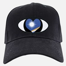 I love MARSHALL ISLANDS Flag Baseball Hat