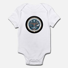 Marshallese Coat of Arms Seal Infant Bodysuit