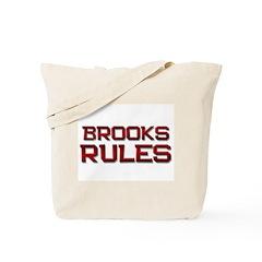 brooks rules Tote Bag