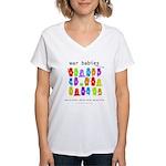 War Babies - Women's V-Neck T-Shirt