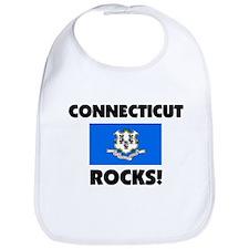 Connecticut Rocks Bib