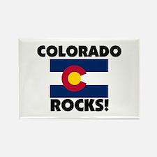 Colorado Rocks Rectangle Magnet