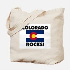 Colorado Rocks Tote Bag