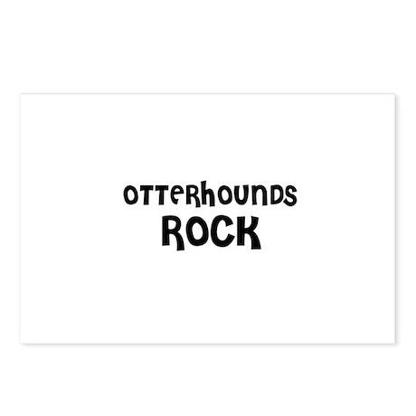 OTTERHOUNDS ROCK Postcards (Package of 8)