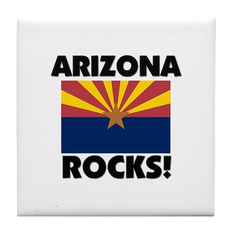 Arizona Rocks Tile Coaster