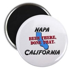 napa california - been there, done that Magnet