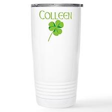 Colleen shamrock Travel Mug