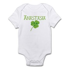 Anastasia shamrock Infant Bodysuit