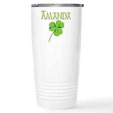 Amanda shamrock Thermos Mug