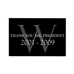 Thank You Mr. President Rectangle Magnet (100 pack