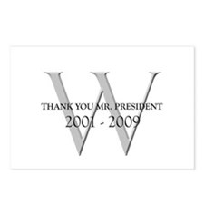 Thank You Mr. President Postcards (Package of 8)