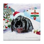 Inky's Winter Tile Coaster