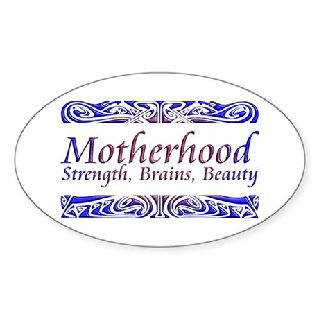 Mother's Day Oval Sticker (10 pk)