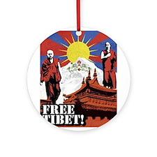 Unique Free tibet Ornament (Round)