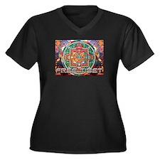 Cute Gaming community Women's Plus Size V-Neck Dark T-Shirt