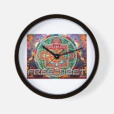 Cool Tibet Wall Clock