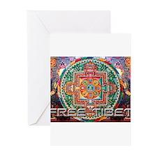 Cool Free tibet Greeting Cards (Pk of 20)