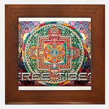 Cute Tibetan Framed Tile