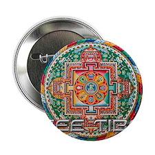 """Cute Dalai lama 2.25"""" Button (10 pack)"""