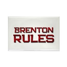 brenton rules Rectangle Magnet