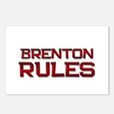brenton rules Postcards (Package of 8)