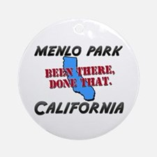 menlo park california - been there, done that Orna