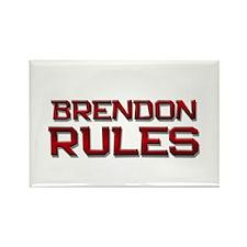 brendon rules Rectangle Magnet