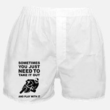 Take It Out And Play With It Boxer Shorts