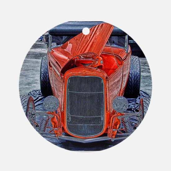 Roadster Ornament (Round)