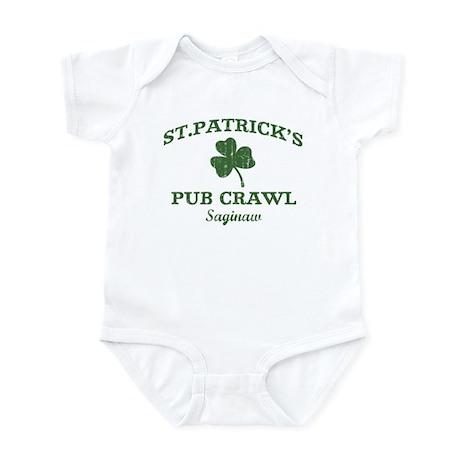 Saginaw pub crawl Infant Bodysuit