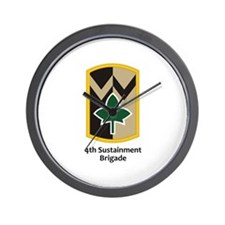 4th Sustainment Brigade Wall Clock