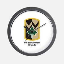 4th Sustainment Brigade Wall Clock