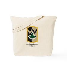 4th Sustainment Brigade Tote Bag