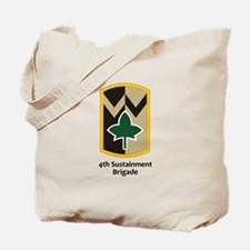 4th Sustainment Brigade Tote Bag