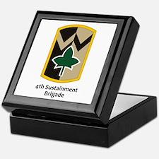 4th Sustainment Brigade Keepsake Box