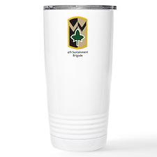 4th Sustainment Brigade Ceramic Travel Mug