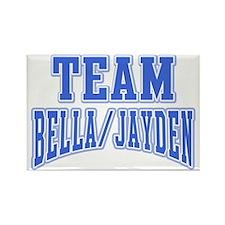 Team Bella Jayden Rectangle Magnet