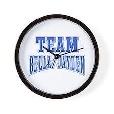 Team Bella Jayden Wall Clock