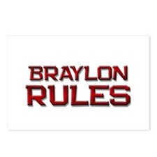 braylon rules Postcards (Package of 8)