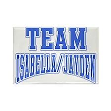 Team Isabella Jayden Rectangle Magnet