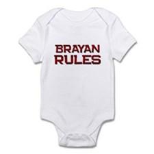 brayan rules Infant Bodysuit