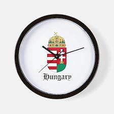 Hungarian Coat of Arms Seal Wall Clock