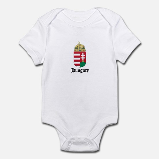 Hungarian Coat of Arms Seal Infant Bodysuit