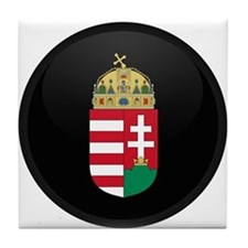 Coat of Arms of Hungary Tile Coaster