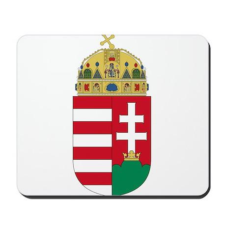 Hungary Coat of Arms Mousepad