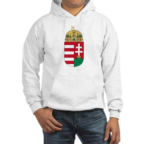 Hungary Coat of Arms Hooded Sweatshirt