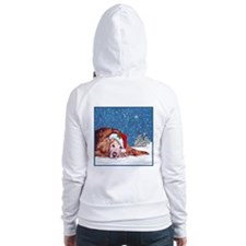 Golden Retriever Fitted Hoodie