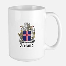 Icelander Coat of Arms Seal Large Mug